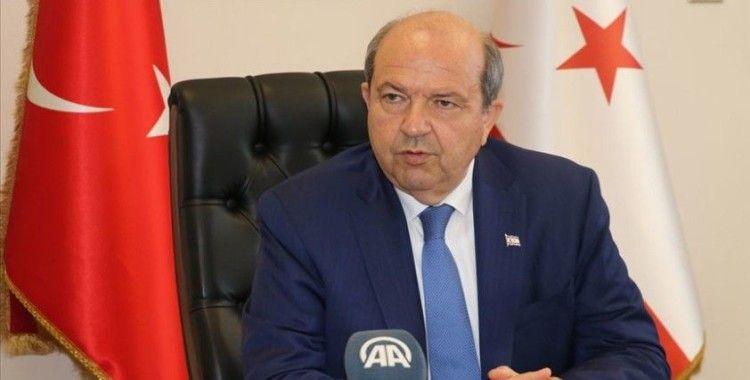 KKTC Başbakanı Tatar: Ayasofya 1453'ten beri Türk'tür, camidir