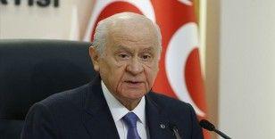 MHP Genel Başkanı Bahçeli: Bugün tarihi bir gün olarak tezahür etmiştir