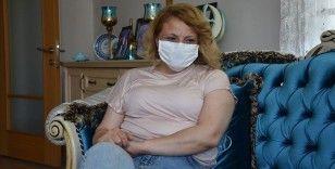 Kovid-19'u yenmenin mutluluğunu yaşayan ebe Nurdan Akyüz Eren: Hala nefes almakta zorluk çekiyorum