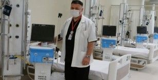 Yerli solunum cihazları Kartal Dr. Lütfi Kırdar Şehir Hastanesi'nde kullanılmaya başlanacak