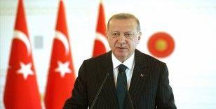 Cumhurbaşkanı Erdoğan: Terör örgütlerine karşı karada ve denizde oldukça derinlikli bir güvenlik hattı oluşturduk