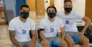 Trabzonspor kafilesi, Denizli'ye geldi