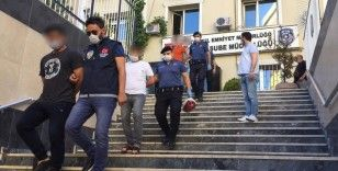 Mekan sahiplerini darp edip gasp eden çeteye operasyon: 12 gözaltı