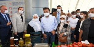 İmamoğlu, 'Üretici Kooperatifi Pazarı'nın açılışını yaptı