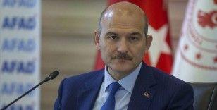 İçişleri Bakanı Soylu: Şu anda 12 köye ulaşım konusunda problem yaşıyoruz