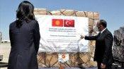 Türkiye'den Kovid-19'la mücadele için Kırgızistan'a tıbbı yardım desteği