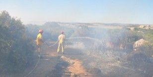 Çanakkale'de makilik alan yangını