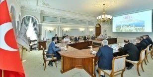 Ayasofya Camisi'nin açılış hazırlıkları koordinasyon toplantısında değerlendirildi