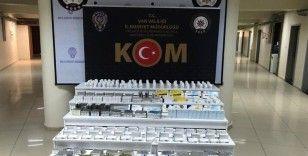 Van'da 63 bin 830 adet tıbbi ilaç ele geçirildi