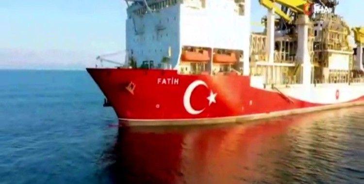 Fatih Sondaj Gemisi Karadeniz'de ilk sondajına başladı