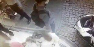 İstanbul'da şaşkına çeviren hırsızlık olayları kamerada