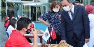 Pandemi koşullarına özel Dünya Satranç Günü kutlaması