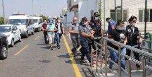 Adana'da pos tefecilerine operasyon: 25 gözaltı