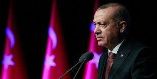Cumhurbaşkanı Erdoğan: 'Türkiye, bugün 60 milyar dolar bütçeli 700 projeye ulaşmıştır'