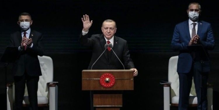 Cumhurbaşkanı Erdoğan'ın Kabine Değerlendirme Toplantısı'ndaki konuşması elektronik ortamda