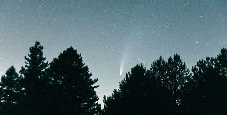 Kuyruklu yıldızın hayran bırakan görüntüleri