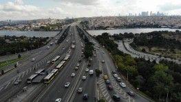 Haliç'te trafik yoğunluğu sürüyor