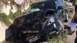 Sinop Valisi trafik kazası geçirdi