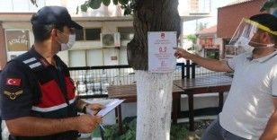 İstanbul'da jandarmadan korona denetimi