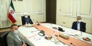 İran Cumhurbaşkanı Ruhani: Sağlık kurallarına uyulmadığı için ikinci dalga yaşandı