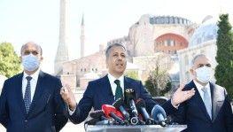 İstanbul Valisi Yerlikaya Ayasfoya Camii'nde alınacak tedbirleri açıkladı