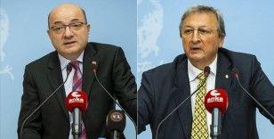 CHP PM Üyesi Cihaner ve Kurultay Onur Üyesi Yarman'dan adaylık açıklaması