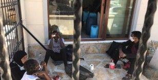 Marmaris'te 5 düzensiz göçmen kurtarıldı