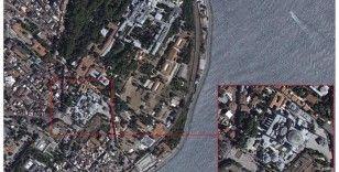 Ayasofya'da ilk Cuma, Göktürk-1 uydusundan böyle görüntülendi