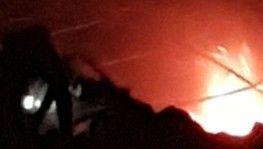 Azez'de mühimmat deposunda patlama
