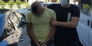 Uyuşturucu kullanmaktan ceza alan genç tutuklandı