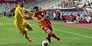 Süper Lig: Fraport TAV Antalyaspor: 1 - Galatarasaray: 0 (İlk yarı)