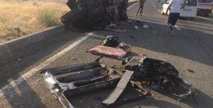 Ağrı'da feci kaza: 3 ölü, 6 yaralı