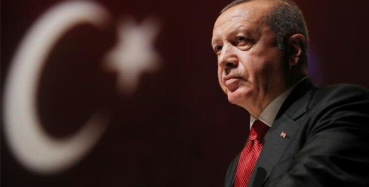 Cumhurbaşkanı Erdoğan cuma namazı için Ayasofya-i Kebir Cami-i Şerifi'nde