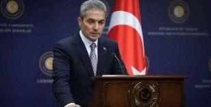 Dışişleri Bakanlığı Sözcüsü Aksoy'dan Fransa Cumhurbaşkanı Macron'a tepki