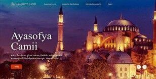 İletişim Başkanlığından Ayasofya-i Kebir Camii kitabı ve internet sitesi
