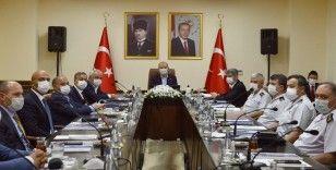 Bakanı Soylu'nun başkanlık ettiği Mersin'deki güvenlik toplantısı sona erdi