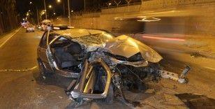 Adana'da feci kaza: 2 ölü, 3 yaralı