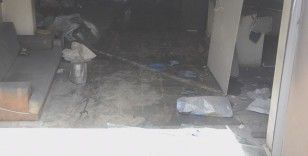 Arnavutköy'de bir iş yerinde patlama