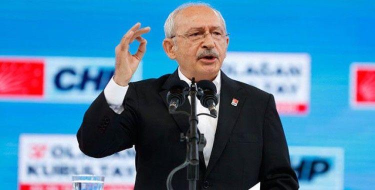 CHP'de Genel Başkanlığa yeniden Kemal Kılıçdaroğlu seçildi