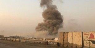 Bağdat'ta askeri üste patlama