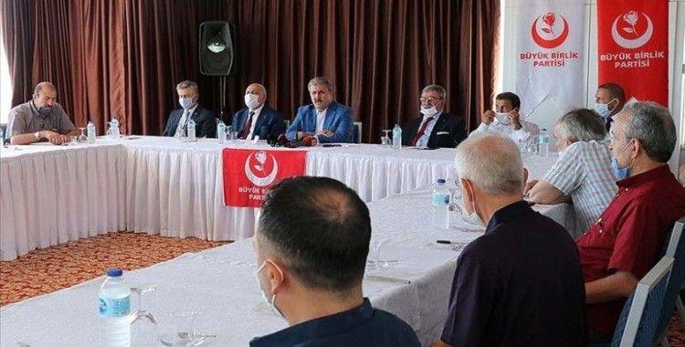 Destici: Ayasofya-i Kebir Cami-i Şerifi'nin ibadete açılmasından her Türk büyük gurur duymalı