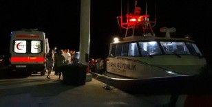 Edremit Körfezi'nde tekne battı: 1 ölü