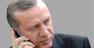 Cumhurbaşkanı Erdoğan, Filistin Devlet Başkanı Abbas ile telefon görüşmesi gerçekleştirdi