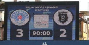 Süper Lig: Kasımpaşa: 3 - Medipol Başakşehir: 2