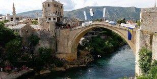 Bosna Hersek'te '454. Geleneksel Mostar Köprüsü Atlayışları' yapıldı