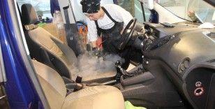 Hobi olarak başladı, profesyonel detaylı araç temizliğinde takdir topluyor