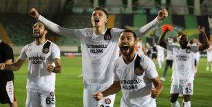 TFF 1. Lig Play-Off Yarı Final: Akhisarpor: 0 - Fatih Karagümrük: 1