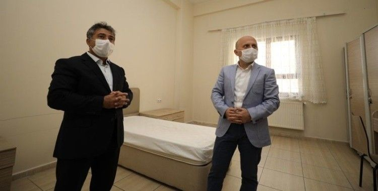 Covid-19 testi pozitif çıkan hastalar, KYK yurdunda karantinaya alınacak