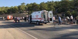 Mersin'de askerleri taşıyan otobüs devrildi: 5 askerimiz şehit oldu
