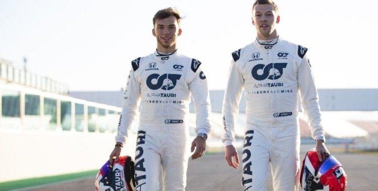 Formula 1'in yeni takımı AlphaTauri, kapılarını açtı